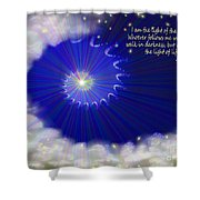 Stairway To Heaven Shower Curtain by Methune Hively