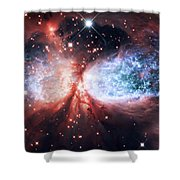 Star Gazer Shower Curtain by The  Vault - Jennifer Rondinelli Reilly