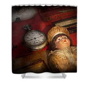 Steampunk - 9-14  Shower Curtain by Mike Savad