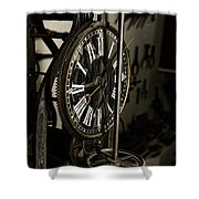 Steampunk - Timekeeper Shower Curtain by Paul Ward
