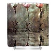 Still Shower Curtain by Jacky Gerritsen