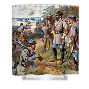 Stonewall Jackson, 1861 Shower Curtain by Granger