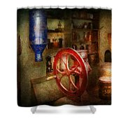 Store - Everything Is For Sale Shower Curtain by Mike Savad