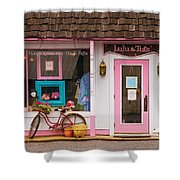 Store - Lulu and Tutz Shower Curtain by Mike Savad