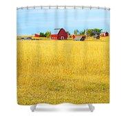 STORYBOOK FARM Shower Curtain by Theresa Tahara
