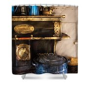 Stove - The Stove Shower Curtain by Mike Savad