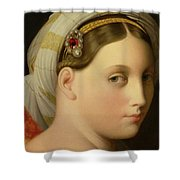 Study For An Odalisque Shower Curtain by Ingres