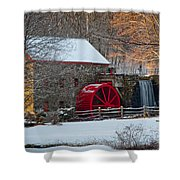 Sudbury Gristmill Shower Curtain by Susan Cole Kelly