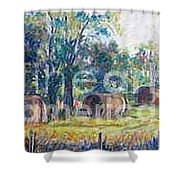 Summer Idyll Shower Curtain by Jan Bennicoff