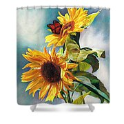 Summer Shower Curtain by Svitozar Nenyuk