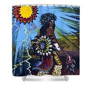 Sun Dancer Shower Curtain by Karon Melillo DeVega