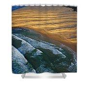 Sun Rise Coast  Shower Curtain by Skip Hunt
