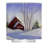 Sun Valley 1 Shower Curtain by Shannon Grissom
