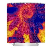 Sunny And Wild Shower Curtain by Stephen Anderson