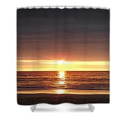 Sunset Shower Curtain by Gina De Gorna