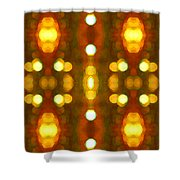 Sunset Glow 2 Shower Curtain by Amy Vangsgard