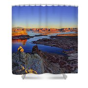 Surreal Alstrom Shower Curtain by Chad Dutson