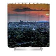 Syracuse Sunrise Shower Curtain by Everet Regal