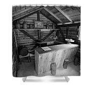 Tavern Shower Curtain by Gaspar Avila