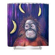 Temptation Shower Curtain by Leah Saulnier The Painting Maniac