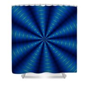 Ten Minute Art 5 Shower Curtain by David Lane