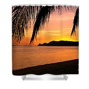 Thailand, Koh Pagan Shower Curtain by William Waterfall - Printscapes