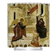 The Annunciation Shower Curtain by Granger
