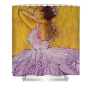 The Ballet Dancer Shower Curtain by David Patterson