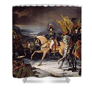 The Battle Of Hohenlinden Shower Curtain by Henri Frederic Schopin