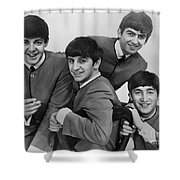 The Beatles, 1963 Shower Curtain by Granger
