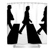 The Beatles No.02 Shower Curtain by Caio Caldas