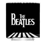 The Beatles No.03 Shower Curtain by Caio Caldas
