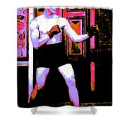 The Boxer - 20130207 Shower Curtain by Wingsdomain Art and Photography