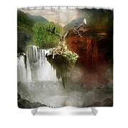 The Choice Shower Curtain by Mary Hood