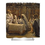 The Communion Of The Apostles Shower Curtain by Tissot