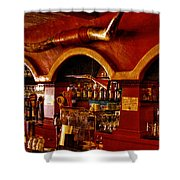The Cowboy Club Bar in Sedona Arizona Shower Curtain by David Patterson