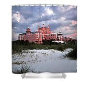 The Don Cesar Shower Curtain by David Lee Thompson