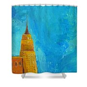 The Empire State Shower Curtain by Habib Ayat