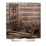 The Gardener Shower Curtain by Ed Smith