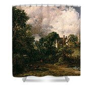 The Glebe Farm Shower Curtain by John Constable