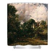 The Glebe Farm Shower Curtain by John Constable