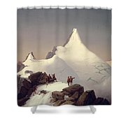 The Great Bellringer Shower Curtain by Marcus Pernhart