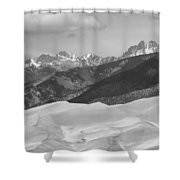 The Great Sand Dunes Bw Print 45 Shower Curtain by James BO  Insogna