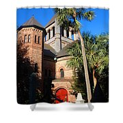 The Holy City Shower Curtain by Susanne Van Hulst