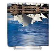 The Iconic Sydney Opera House Shower Curtain by Avalon Fine Art Photography