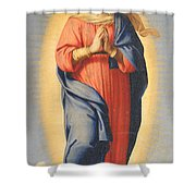The Immaculate Conception Shower Curtain by Il Sassoferrato