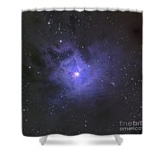 The Iris Nebula Shower Curtain by Ken Crawford