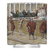 The Judgement on the Gabbatha Shower Curtain by Tissot