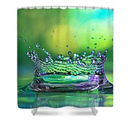 The Kings Crown Shower Curtain by Darren Fisher