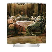 The Last Supper Shower Curtain by Tissot